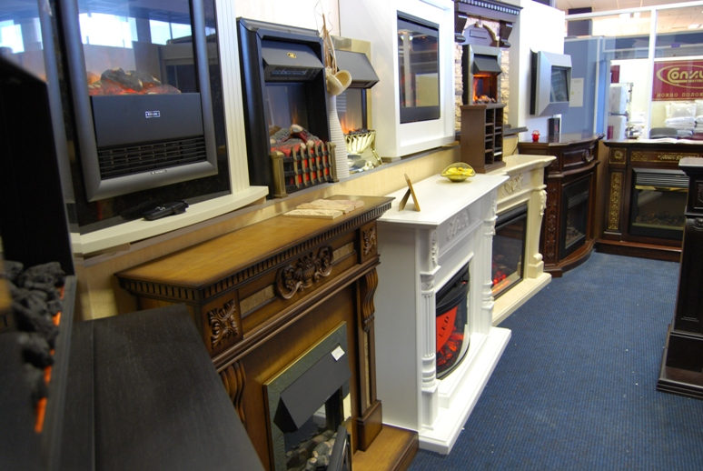 Выставочный зал магазина каминов КАМЭКС. Вид 4